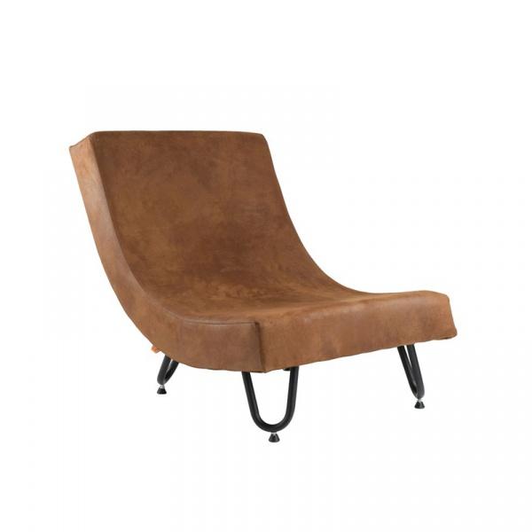 Fotel Gie El Botanica brązowy FST0231