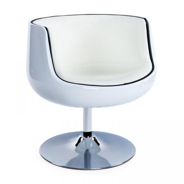 Fotel Harlow Kokoon Design biały AC00150WHWH
