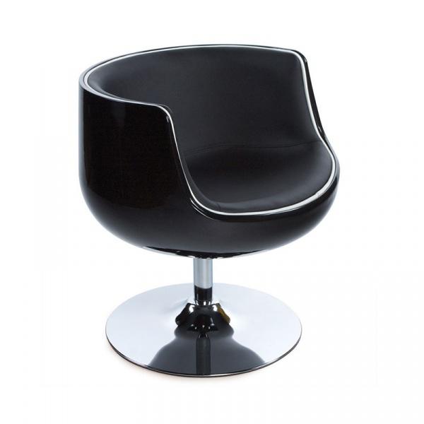 Fotel Harlow Kokoon Design czarny AC00130BLBL