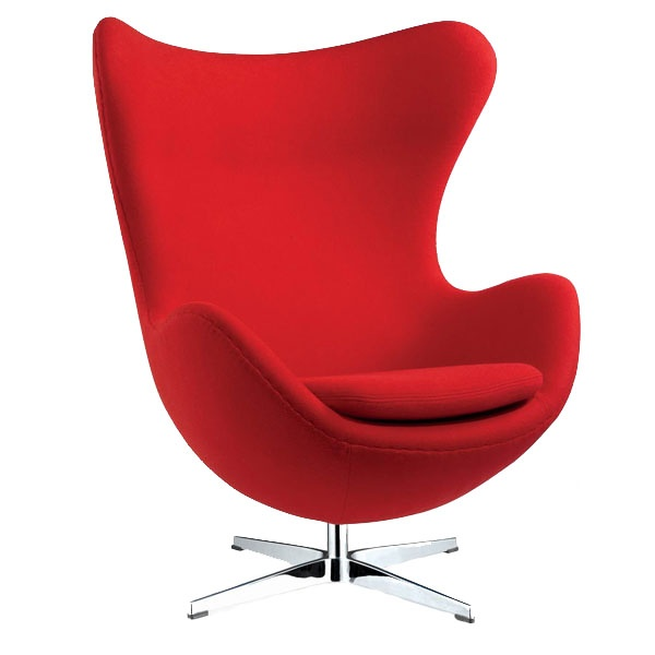 Fotel Jajo D2 kaszmir czerwony DK-18087