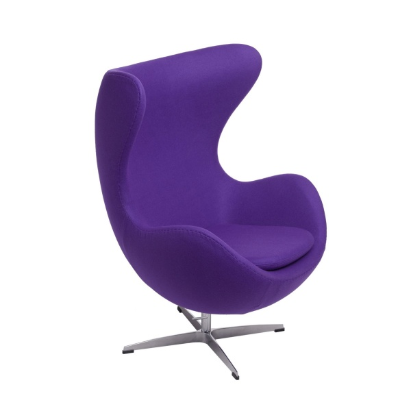 Fotel Jajo D2 kaszmir fioletowy 5902385717090