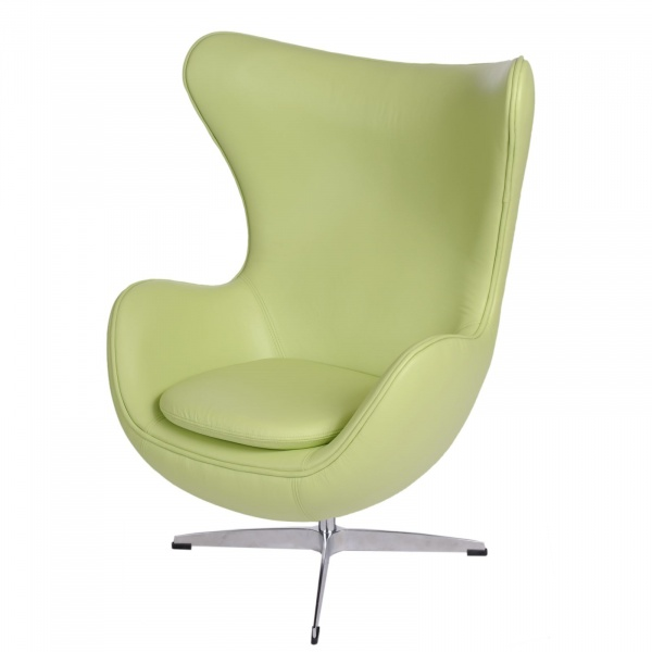 Fotel Jajo D2 skóra zielona DK-25427
