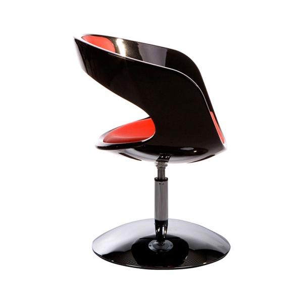 Fotel Kirk Kokoon Design czarno-czerwony AC00360BLRE