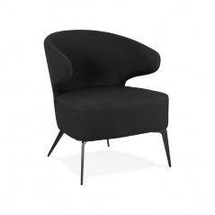 Fotel Kokoon Design Orelo czarny