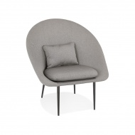 Fotel Kokoon Design Parabol szary