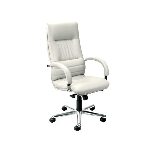 Fotel Linea Steel Chrome (multiblock) SD-06 biały LI-S-CH-M-SD-06