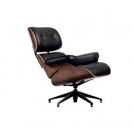 Fotel Lounge Chair King Home czarny