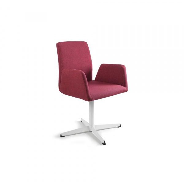 Fotel obrotowy Unique Brava czerwony 2-155A-2