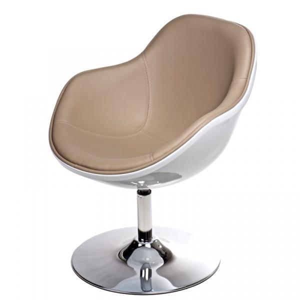 Fotel Pezzo K- biały, S-beż DK-41857