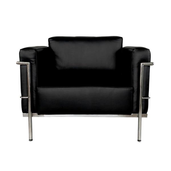 Fotel Soft GC czarna skóra DK-9750