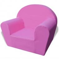 Fotelik dziecięcy różowy