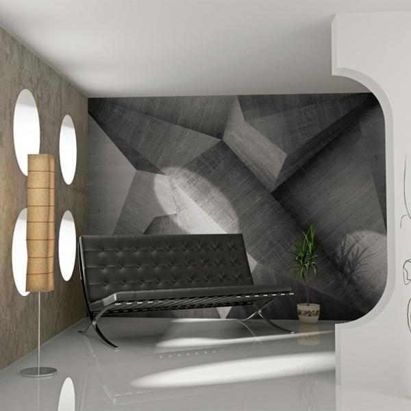 Fototapeta - Abstrakcyjne betonowe bloki (200x154 cm) A0-LFTNT0562
