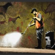 Fototapeta - Banksy - Cave Painting A0-XXLNEW011565