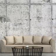 Fototapeta - Betonowa ściana (300x210 cm)