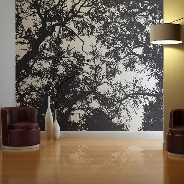 Fototapeta - Bleak forest (200x154 cm) A0-LFTNT0753