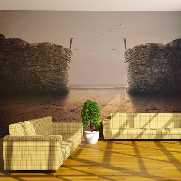 Fototapeta - Bliscy i oddaleni (200x154 cm) A0-LFTNT0806