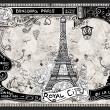 Fototapeta - Bonjour Paris A0-XXLNEW010661
