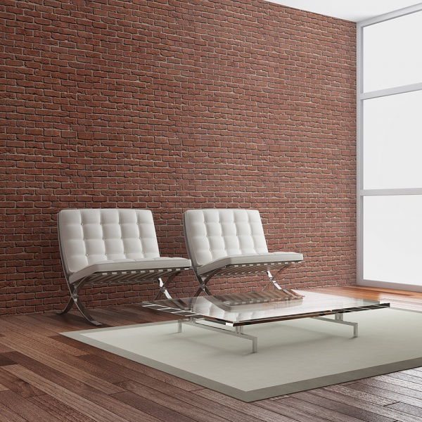 Fototapeta - Brick - simple design (200x154 cm) A0-LFTNT0649