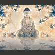 Fototapeta - Buddha of prosperity A0-F4TNT0071-P