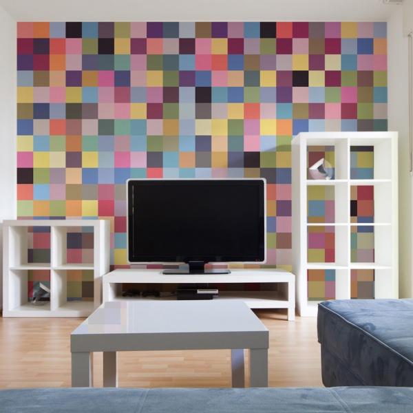 Fototapeta - Cała gama kolorów (200x154 cm) A0-LFTNT0654