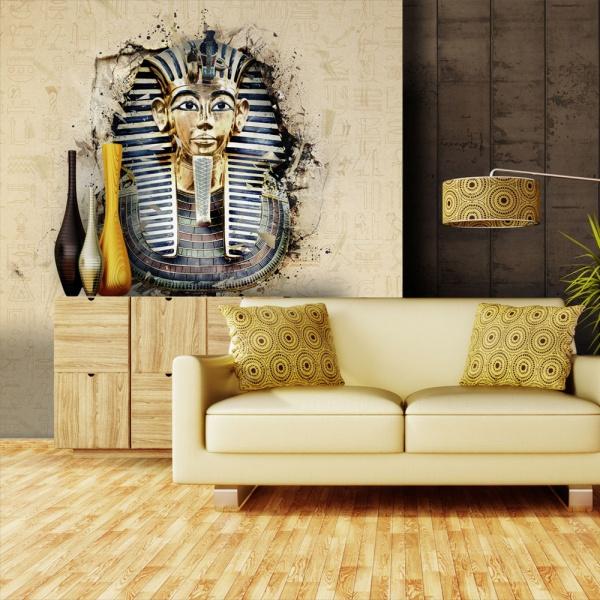 Fototapeta - Dostojny Faraon (200x154 cm) A0-LFTNT0508