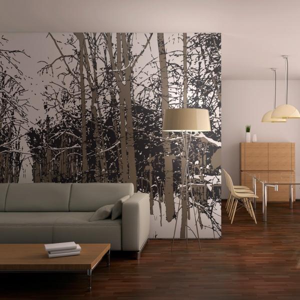 Fototapeta - drzewa - jesień (200x154 cm) A0-LFTNT0755