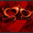 Fototapeta - Dwa serca A0-XXLNEW011283