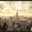 Fototapeta - Dzielnice Nowego Jorku A0-XXLNEW010504