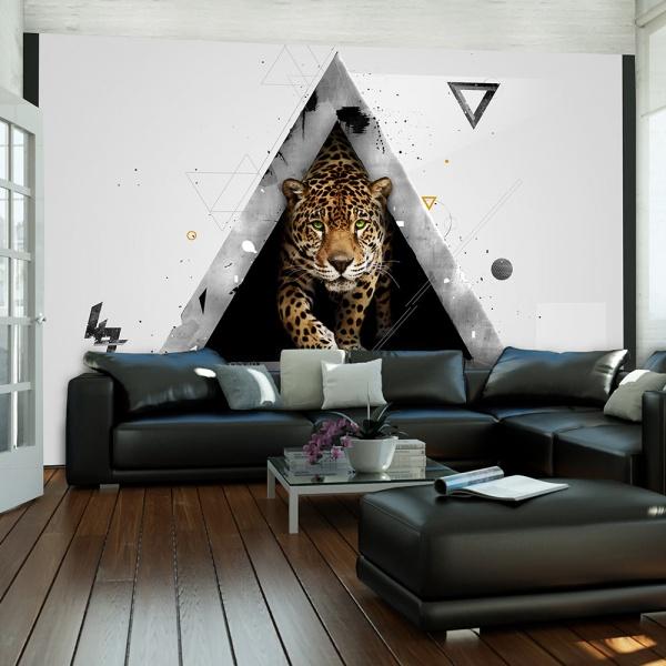 Fototapeta - Dzika abstrakcja (200x154 cm) A0-LFTNT0852