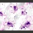 Fototapeta - Dźwięki subtelności - fiolet A0-XXLNEW010374