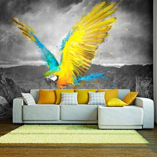 Fototapeta - Exotic parrot (200x154 cm) A0-LFTNT0759