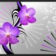 Fototapeta - Fioletowe wibracje A0-XXLNEW010468