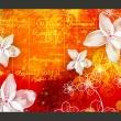 Fototapeta - Floral notes II A0-XXLNEW010348