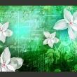 Fototapeta - Floral notes III A0-XXLNEW010347