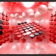 Fototapeta - Gra w czerwone i czarne A0-XXLNEW011430