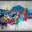 Fototapeta - Graffiti eye A0-XXLNEW010150