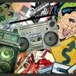 Fototapeta - Graffiti girl A0-XXLNEW010351