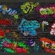 Fototapeta - Graffiti wall A0-XXLNEW010285