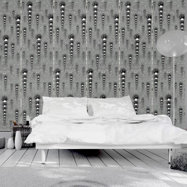 Fototapeta - Grafitowe sople (50x1000 cm) A0-WSR10m365