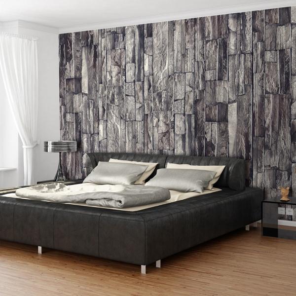 Fototapeta - Granitowa skała (50x1000 cm) A0-WSR10m379
