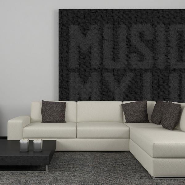 Fototapeta - Hard rock music (200x154 cm) A0-LFTNT0589