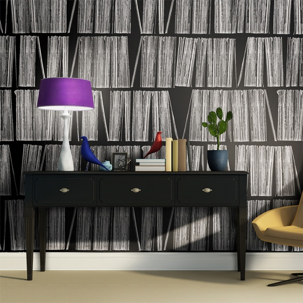Fototapeta - Home library (200x154 cm) A0-LFTNT0650