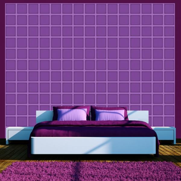Fototapeta - Jagodowa geometria (50x1000 cm) A0-WSR10m510
