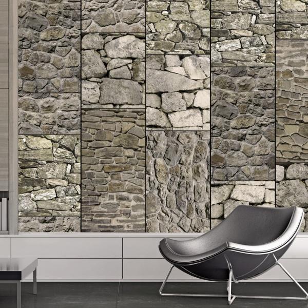 Fototapeta - Kamienna ściana (50x1000 cm) A0-WSR10m405