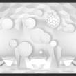 Fototapeta - Koła w przestrzeni A0-XXLNEW011568