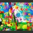 Fototapeta - Kolorowe fantazje A0-XXLNEW010156