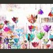 Fototapeta - Kolorowe tulipany A0-XXLNEW010311