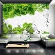 Fototapeta - Kolory wiosny: zielony A0-XXLNEW010422