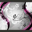 Fototapeta - Kwietne esy-floresy (różowy) A0-XXLNEW010126