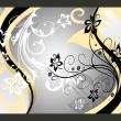 Fototapeta - Kwietne esy-floresy (żółty) A0-XXLNEW010125